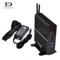 Kingdel i7 Haswell NUC Core i7 4500U Fanless Mini PC Home Theater Personal Computer 3200*2000 Dual LAN+HDMI,Wifi,Windows 10 Pro