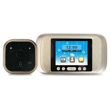 3.2 дюймов ЖК-дисплей глазок Камера двери 720 P HD Экран дверной звонок глаз Запись видео 160 градусов ночного видения
