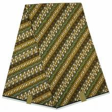 real veritable wax 100% cotton batik printed ankara guaranteed super quality african men prints F431 new design