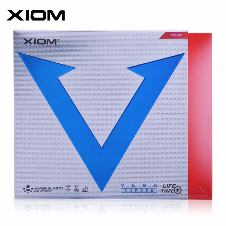 XIOM Original VEGA Europe White Pimples In Table Tennis Rubber Ping Pong Sponge Tenis De Mesa встраиваемый спот точечный светильник novotech branch 369663
