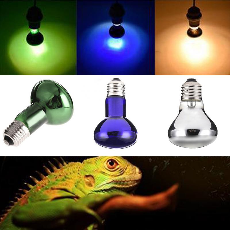 25/50/75/100w Uv Reptile Lamp Bulb Turtle Basking Uv Light Bulbs Heating Lamp For Amphibians Lizards Snake