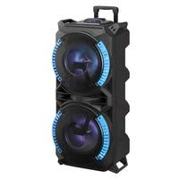120CM height big size Bluetooth trolley speaker With Mic Super Bass Party Speaker Portable speaker outdoor speaker