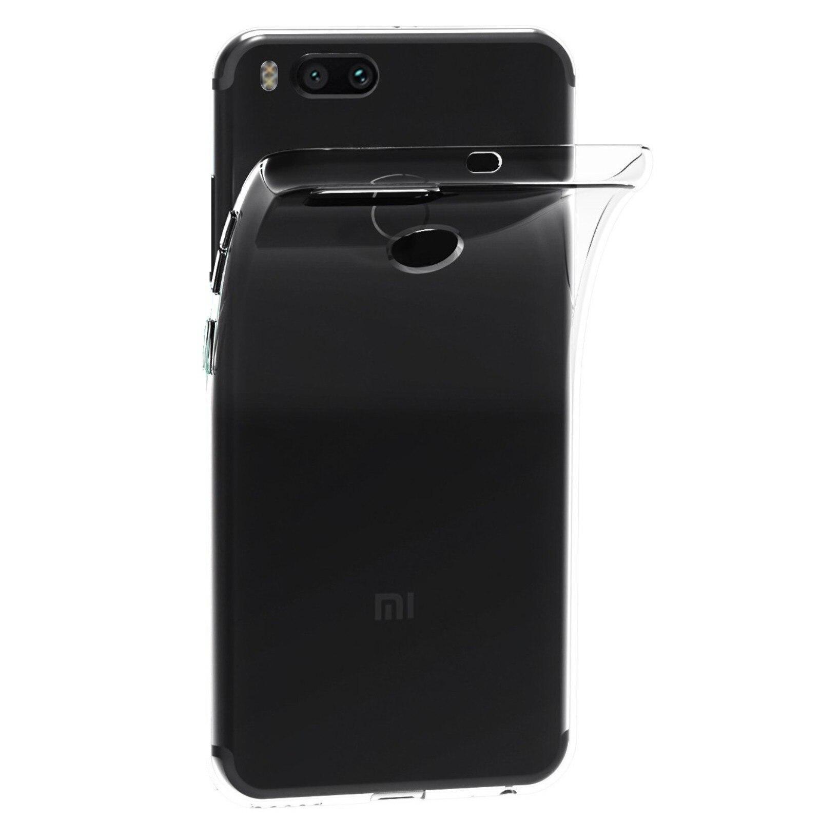 Funda de gel TPU carcasa silicona para movil Xiaomi MI A1 4G 5.5 TRANSPARENTE