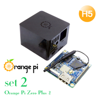 Orange Pi Zero Plus 2 H5 SET2: Orange Pi Zero Plus 2 H5+Protective Black Case, A development board beyond Raspberry Pi