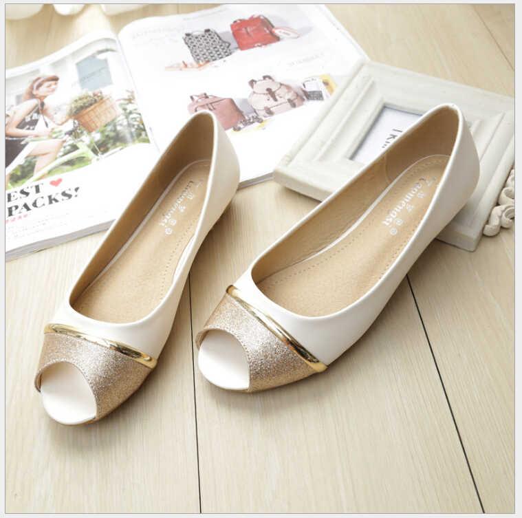 Casual Peep Toe Women Flat Shoes Summer