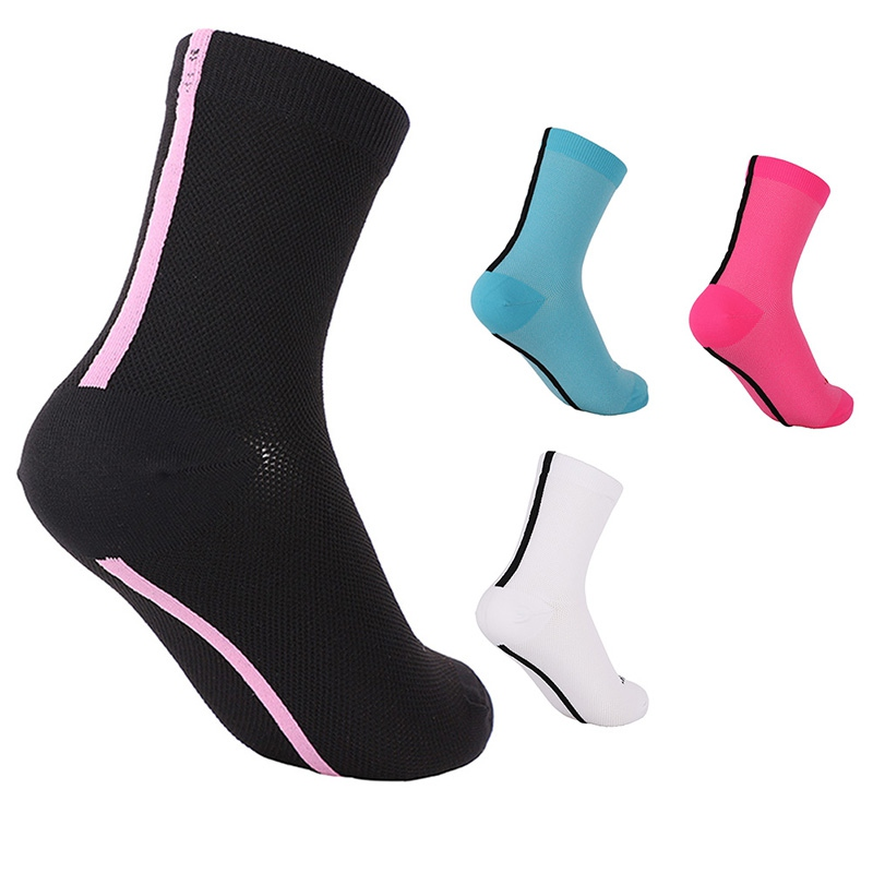 2019 Sports Cycling Socks Women Men Nylon Breathable Sweat Absorption Hosiery Outdoor Basketball Running For Professional Match