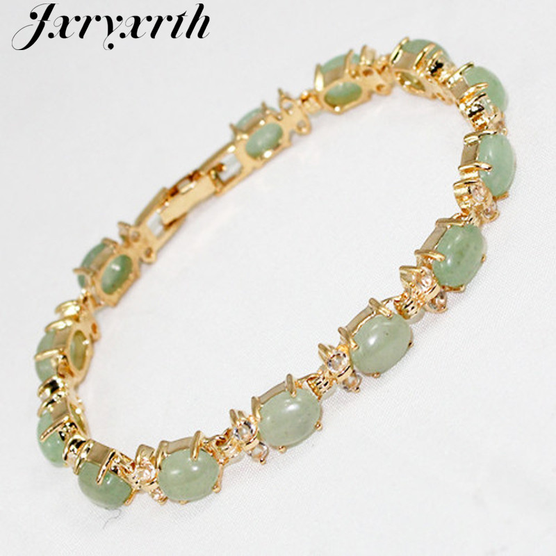 Jxryxrth'' Woman 2018 New Beautiful Fashion light green Bracelet  BangleBracelet ''Gift K2659