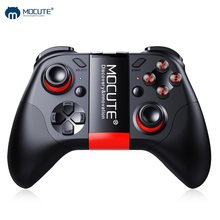 Mocute 054 Bluetooth Gamepad Crystal Button Android Joystick PC Wireless Remote Controller Game Pad for Smartphone for VR TV BOX(China)