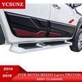 2016-2019 облицовка корпуса для Mitsubishi l200 Triton 2019 облицовка корпуса Аксессуары для Mitsubishi L200 2019 Ycsunz