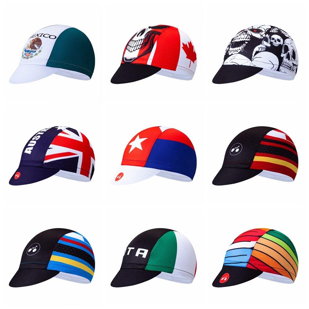 Men Women Cycling Team Road Bike MTB Sunhat Sun Visor Casual Sports Caps Hats