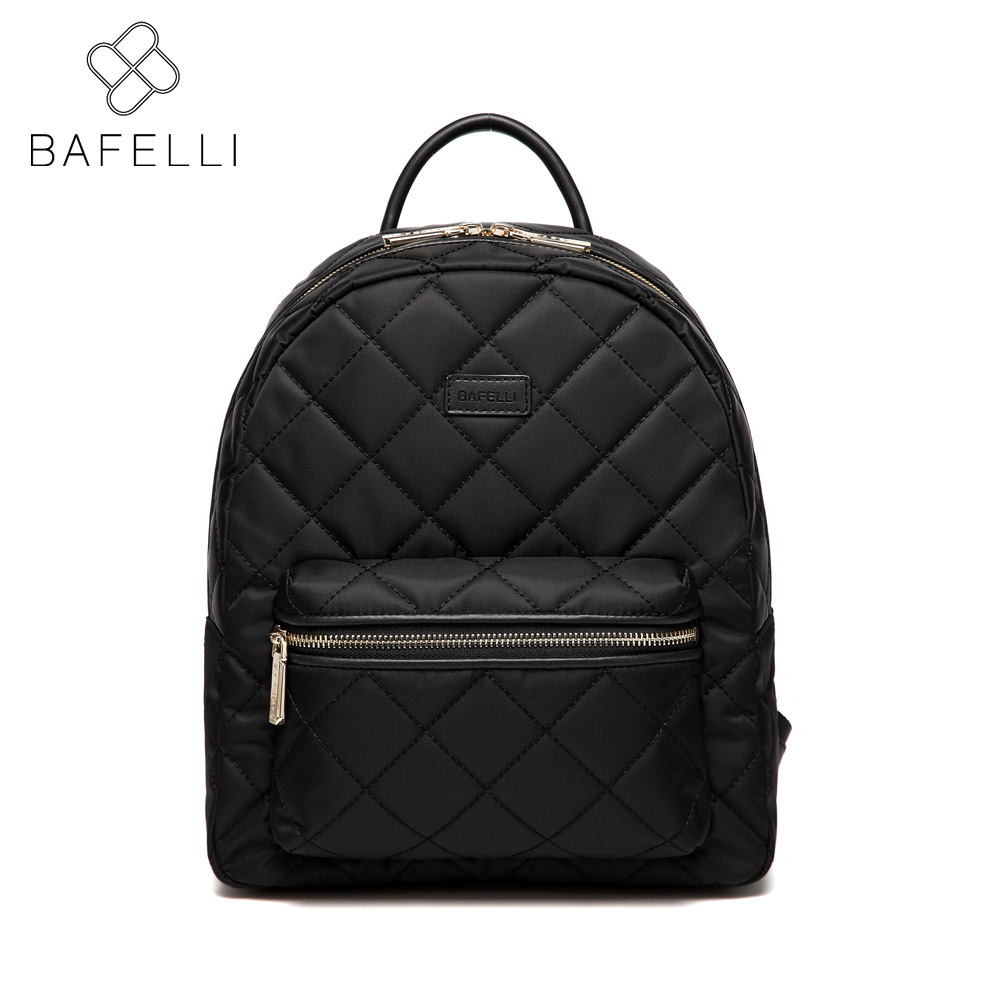 BAFELLI 2017 fashion diamond lattice softback backpacks black bolsa feminina for teenage girls nylon backpacks women bag