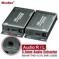 HSV891 hdmi extender по tcp/ip с аудио эксрактор HDMI Extender Cat5 поддержка 1080 P HDMI удлинитель через Rj45 HDMI Extender cat5