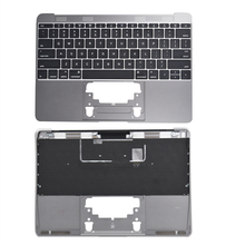 New Genuine 2016 A1534 12″ MacBook Top Case/Keyboard Space Gray FREE SHIPPING
