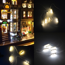 New Arrival LED light up kit for Compatible with Lego and Lepin Building Block Bricks Model Building Kit Toy High Quality