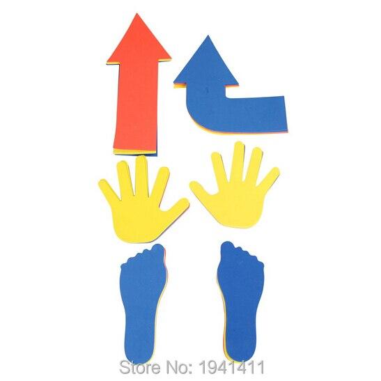 36 шт./компл. открытый игрушки eva руки Средства ухода за кожей стоп и стрелки игры, осуществлять гибкость руки и Средства ухода за кожей стоп