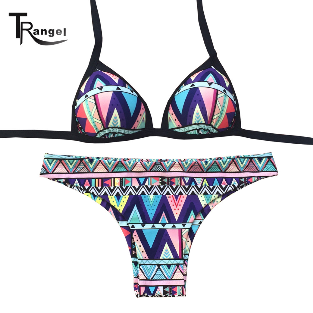 buy 2016 sexy push up swimwear halter bikini brazilian padding swimsuit bathing. Black Bedroom Furniture Sets. Home Design Ideas
