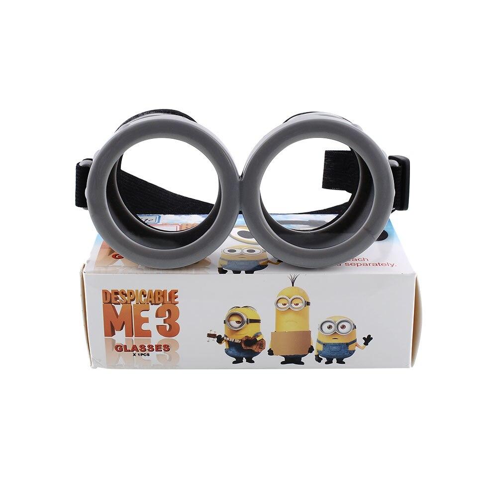2016 Hot Sale Despicable Me Look Goggles Cute 3D Movie <font><b>Glasses</b></font> Minion Goggles <font><b>RealD</b></font> Universal Eyewear