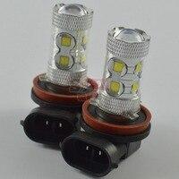 H11 Fog Lamp 2pcs 50W Cree LED Car Light Source For Led Auto Lightings Xenon White