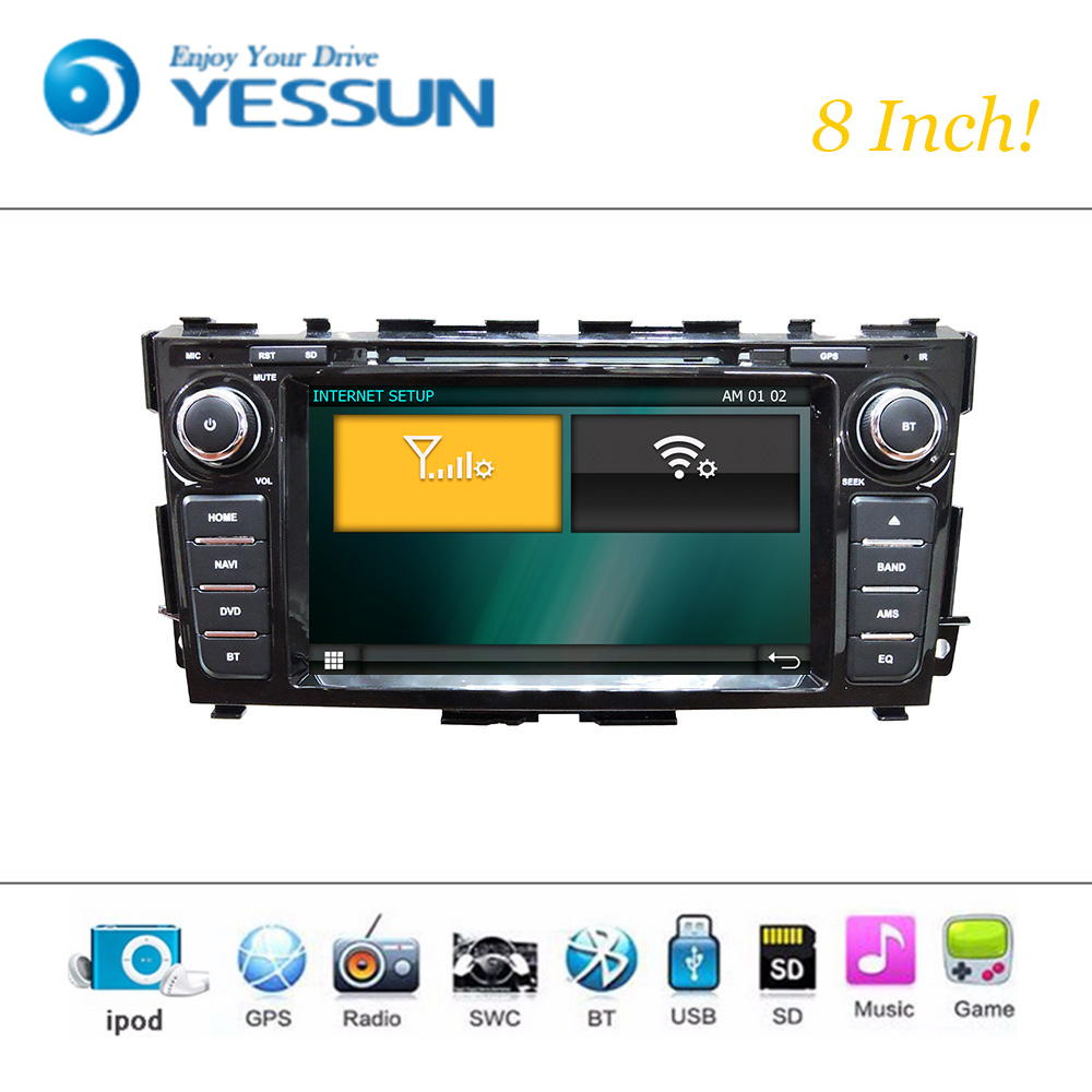 Car Dvd Player Wince System For Nissan Teana 2013 2015 Autoradio Wiring Diagram Radio Stereo Gps Navigation Multimedia Audio Video In From