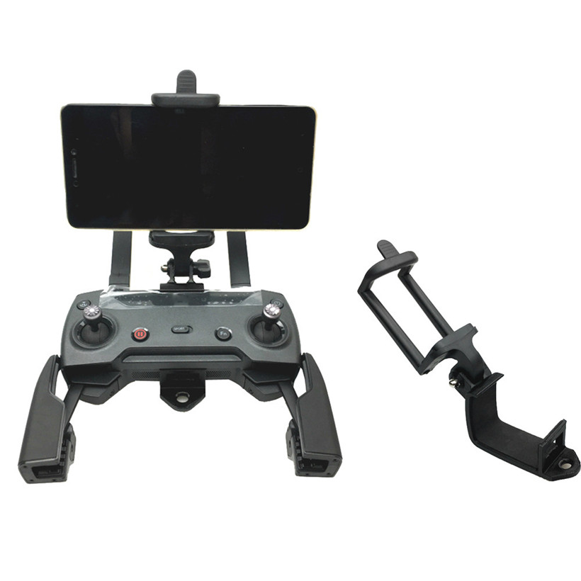 Mobile Phone Mount Bracket Holder Support For DJI Mavic Pro/DJI Spark RC Monitor drop shipping 0925