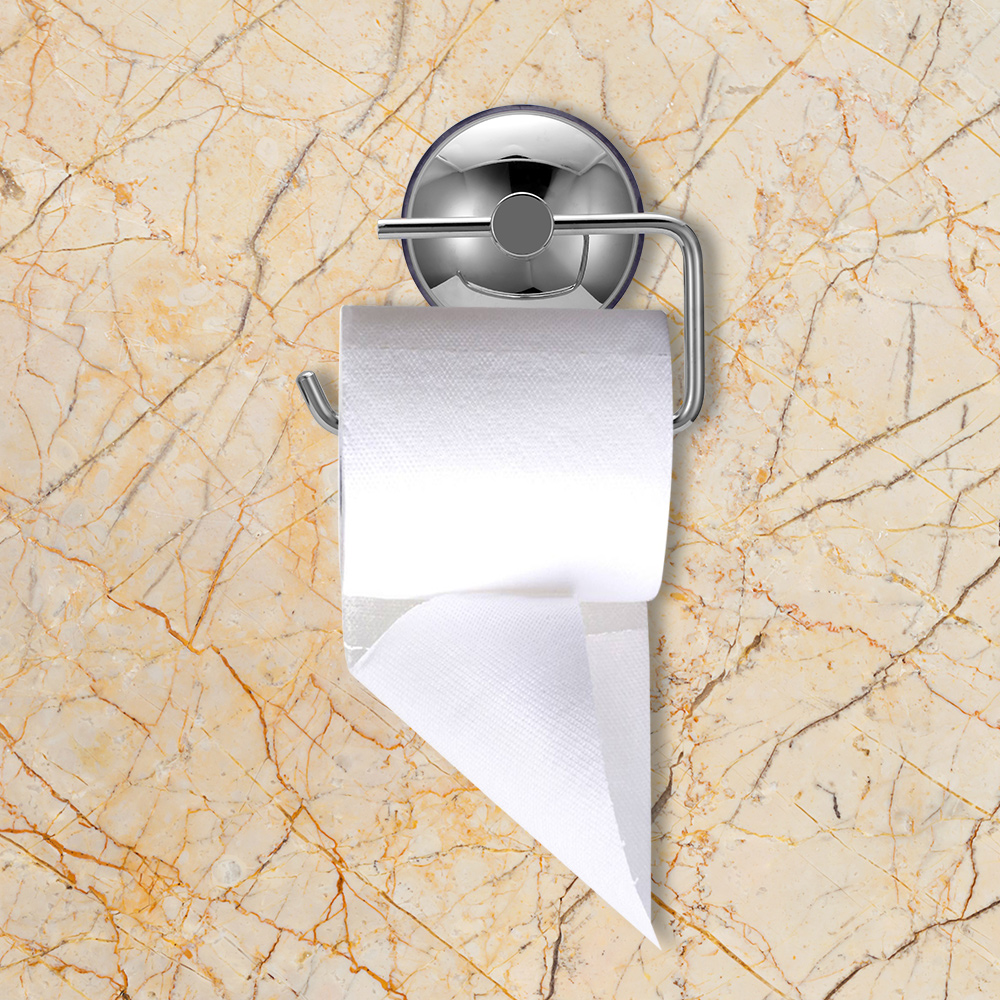 Back To Search Resultshome Improvement Nice Toilet Paper Holder Kitchen Bathroom 3m Stick Suction Cup Toilet Paper Holder Papel Higienico Stainless Steel Polished Finished Lustrous Bathroom Fixtures