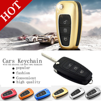 Free Shipping Key set of car keys package protection shell key chain For focus kuga eco sport Mondeo