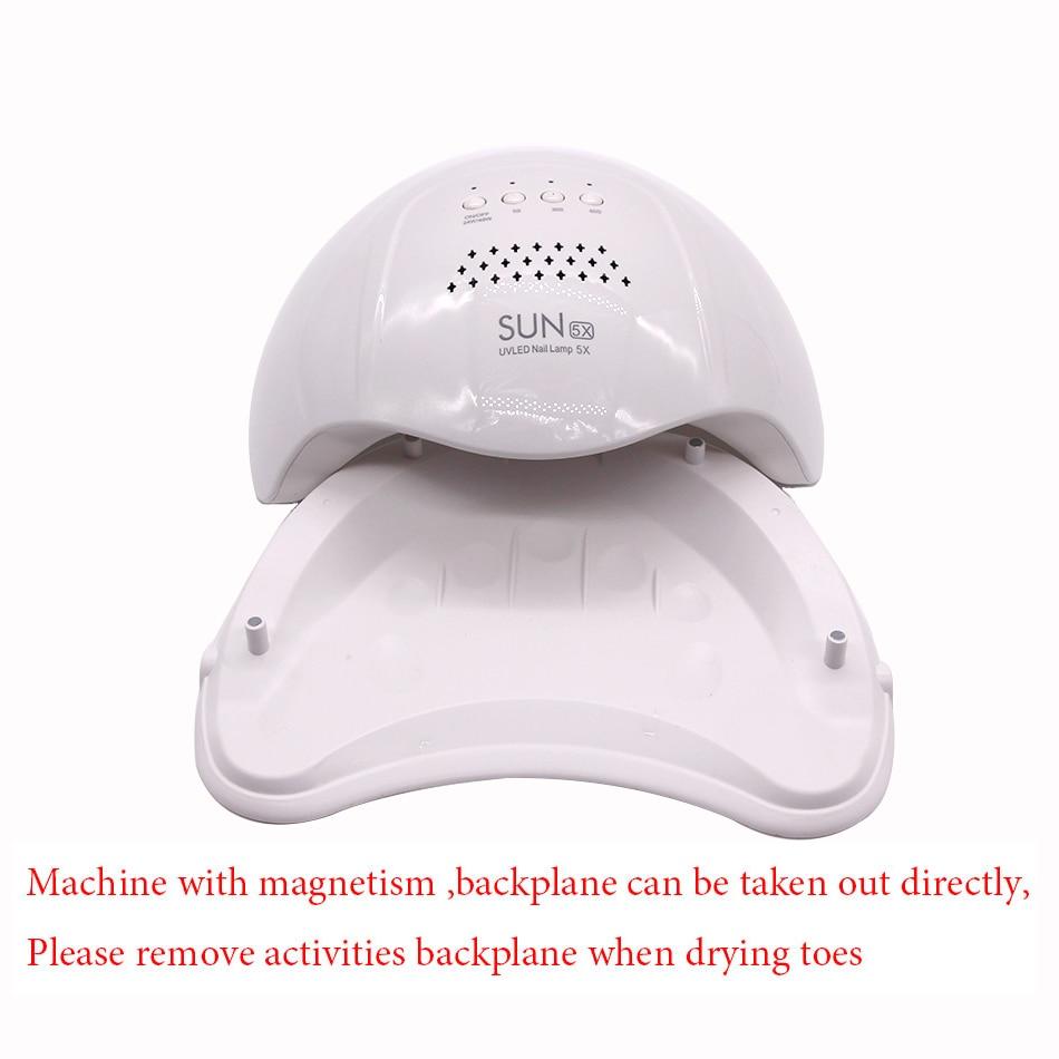 Image 5 - SUN5X  48W UV LED Nail Lamp Nail Gel Curing Lamp UV Gel Nail Dryer Nail Art Tool-in Nail Dryers from Beauty & Health