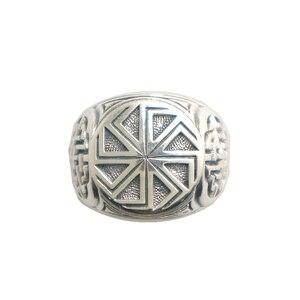 Image 2 - Taille 6 à taille 14 unisexe Cool 925 argent Vikings slave roue amulette anneau