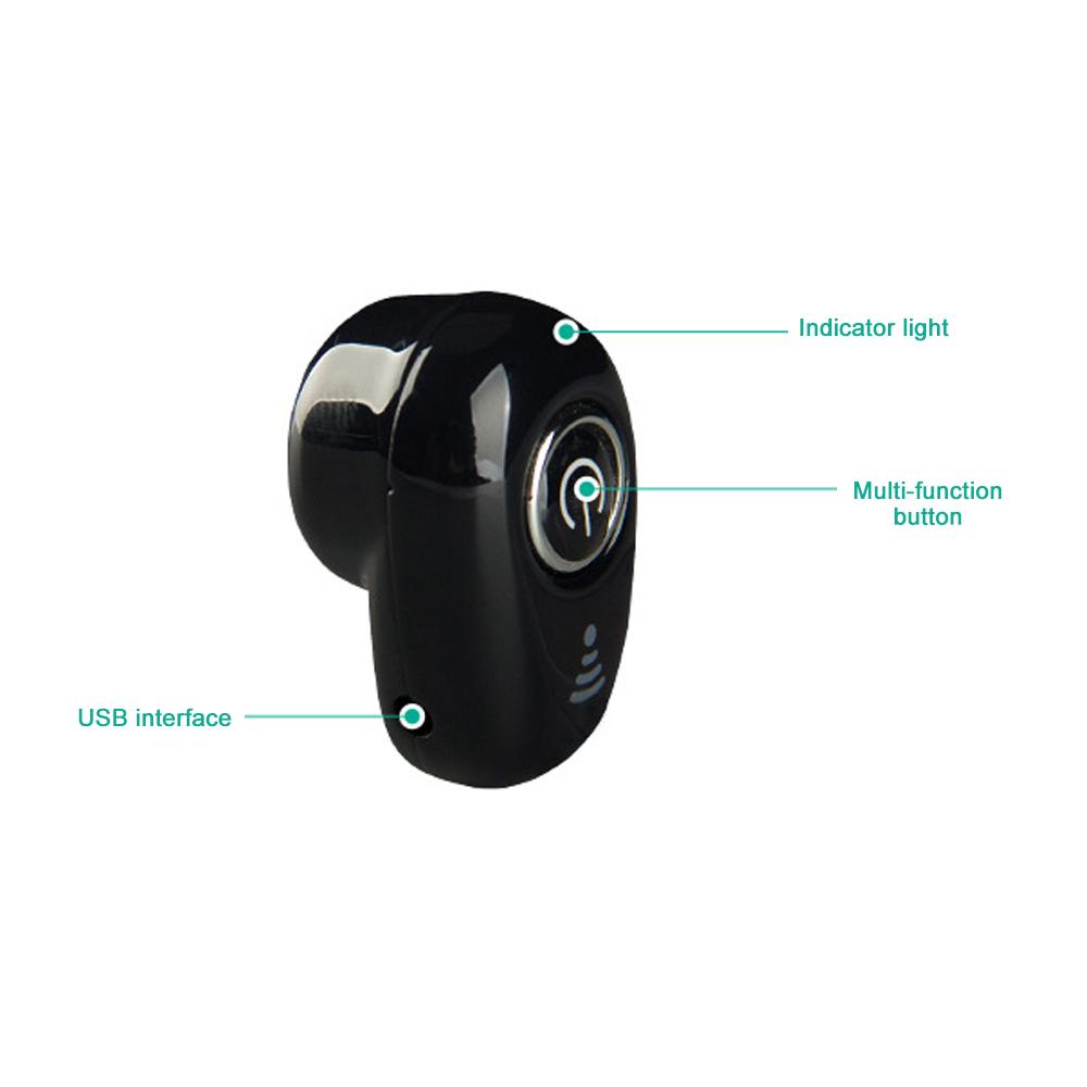S650 Mini Bluetooth Earphones Wireless Headphones Headset wint Mic Earbuds for xiaomi iphone huawei (13)