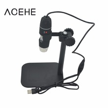 Big discount Practical Electronics 5MP USB 8 LED Digital Camera Microscope Endoscope Magnifier 50X~500X Magnification Measure Hot Search