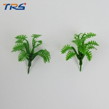 Teraysun 3.5cm height mini model grass artificial green color for outdoor scenery layout