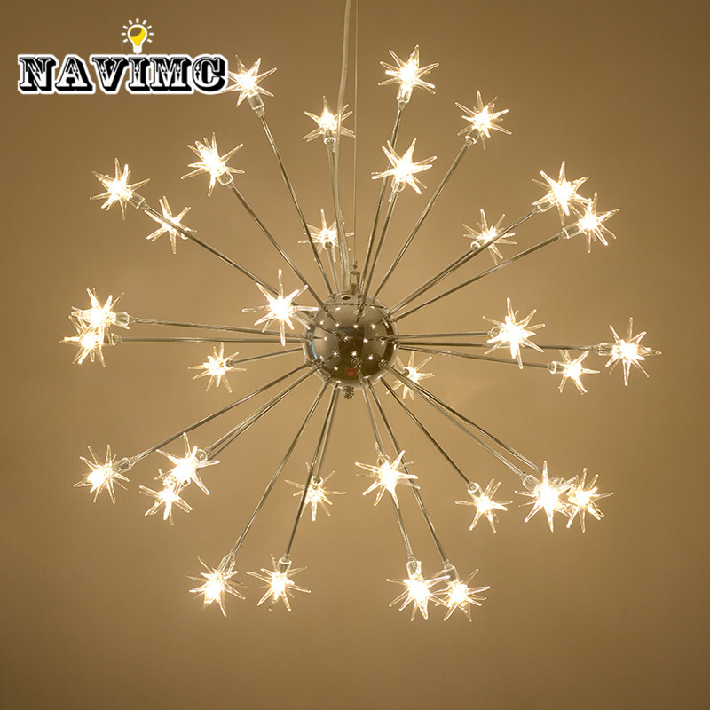 Meteor Shower style Crystal Chandelier Light LED lamp for Dining Room Living Room Bedroom Art Chandelier Lighting Decoration