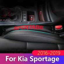 Из искусственной кожи автокресло Gap наполнитель мягкий коврик обивка Spacer для Kia Sportage 2011 2012 2013 аксессуары