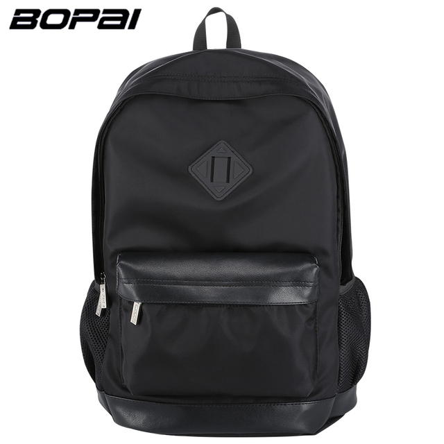 BOPAI Men Backpack Business Mens Travel Backpack Lighweight Black ...