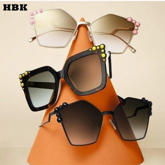 Olho de gato Óculos De Sol Itália Marca de Luxo Designer Mulheres Espelho  óculos de Sol ... 440c277a3c