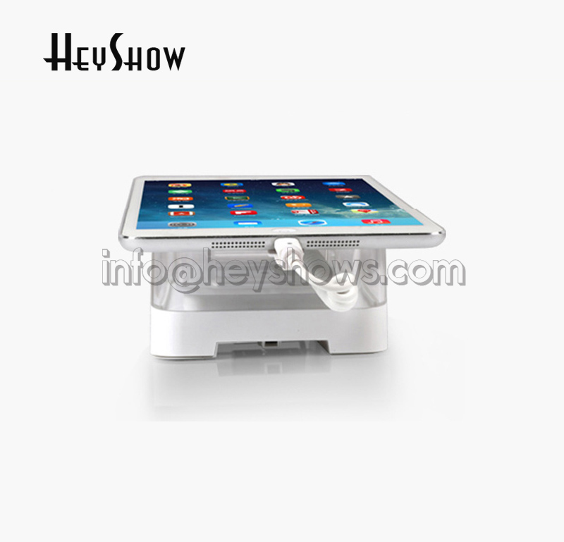 10x Tablet Security Display Stand Acrylic Anti Theft Holder For Tablet Burglar Alarm In Mi Apple HUAWEI Store Wireless Control