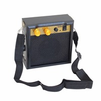 Amp Amplifier Speaker Mini 5W 9V Battery Powered for Acoustic Electric Guitar Ukulele Mandolin Violin