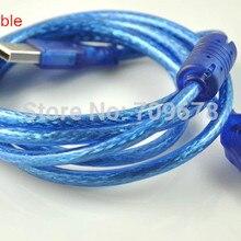 1,5 м USB удлинитель, магнитный анти-помехи USB к USB 10 шт./лот(предложение для HD-W60/W62/W63USB-Disk светодиодный контроллер