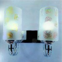 Lámpara de cristal de país americano  adecuada para hoteles  sala de estar de dormitorio  pasillo