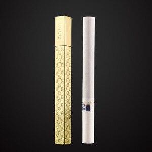 Image 4 - Genuine IMCO Lighter Delicacy Mini Slim Lighter Original Oil Gasoline Cigarette Lighter Cigar Fire Pure Copper Petrol