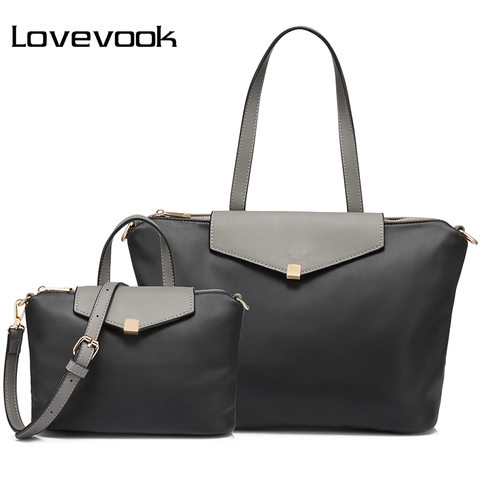 LOVEVOOK handbags women bag large female shoulder crossbody bag small ladies messenger bags high quality PU leather bag set Pakistan
