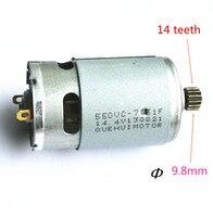 Replacement 14 Teeth Motor DC 14 4V For MAKITA CCW15 629819 4 6280D 6280DWE 6281DWE Cordless