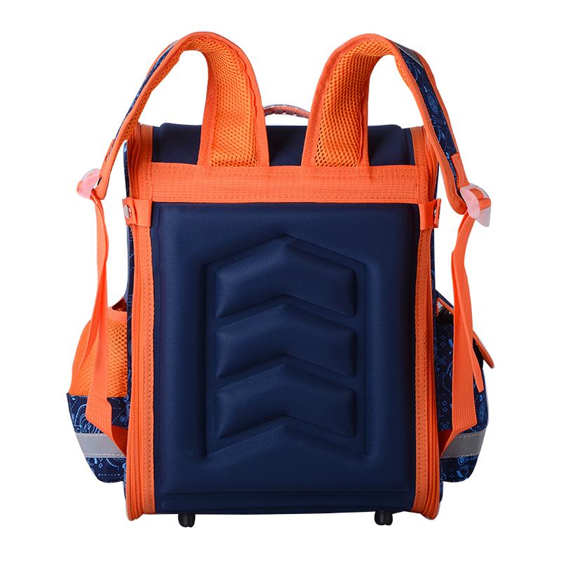 حقيبة مدرسية مطوية العظام للفتيان 8