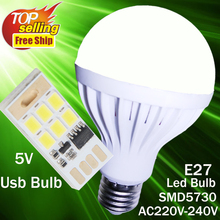 Portable Mini USB Led Bulb DC 5V LED Night Light Tube Pocket Card Lamp Spotlight filament lamp lights Book