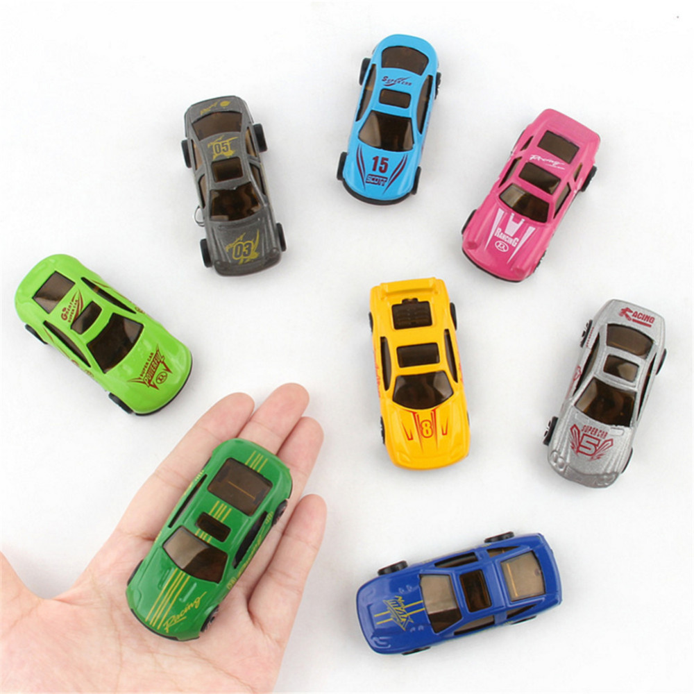 12 PCS Skiing Alloy Car Models Toy Cars for children and kids gift