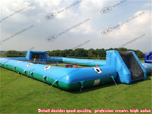 Giant Outdoor Inflatable Human Football Games Inflatable soccer court for rental