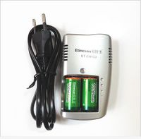 2pcs 1350mAh 3v CR123A Rechargeable LiFePO4 Battery Lithium Battery 1 Pc Charger