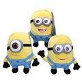Высокое качество Гадкий я Миньоны 3 шт. Хорхе Стюарт Дэйв Плюшевые Игрушки Куклы 3D Глаза MinionsToys
