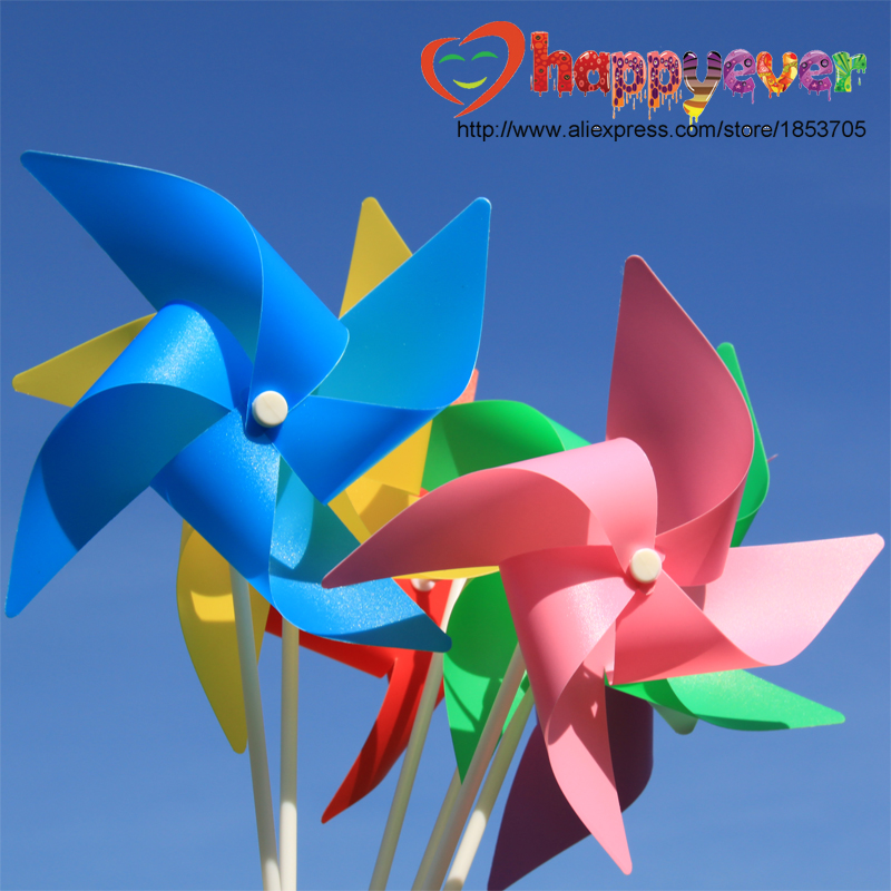 One Set Colorful Paper Fans Round Wheel Disc Birthday Kids Party ...