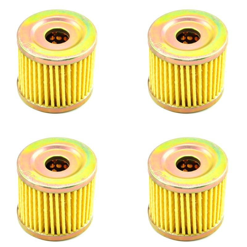 LOPOR 4*Pcs Motorcycle Engine Oil Filter For Suzuki UC125Epicuro,UE/UH/UX125,AN/UC/UE/UX150,UH200,AN400/Z